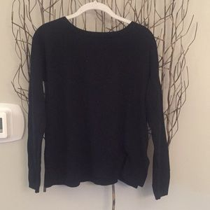 Lululemon black two way top never worn!